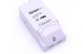 מפסק חכם לדוד חשמל בזול או לכל מכשיר עד 16 אמפר  Sonoff 16TH